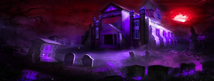 Blood Moon University School Graphic